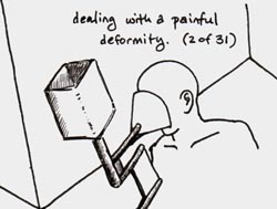 dealing with a painful deformity (2 of 31)