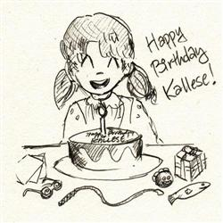 Happy Birthday, Kallese!