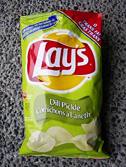 Dill Pickle Lay's Potato Chips